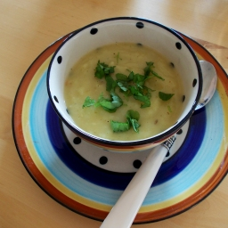 Erfrischende Suppe für einen guten Schlaf