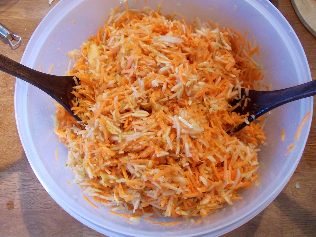 Moehren-Birnen-Salat