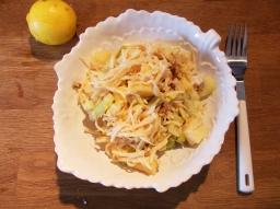 Selleriesalat mit Ananas